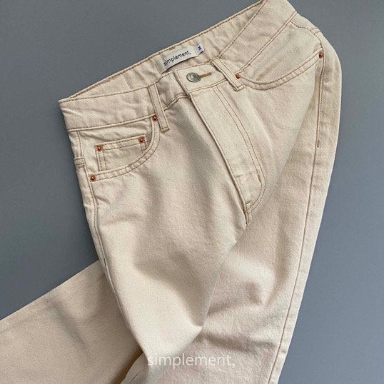 157 Glace Cream Jeans (CONE DENIM MILLS)